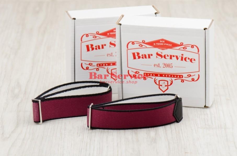 Армбенды, цвет бордо. Bar Service в Туле
